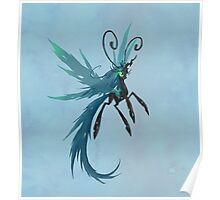 My Little Pony - MLP - Queen Chrysalis Breezie Poster