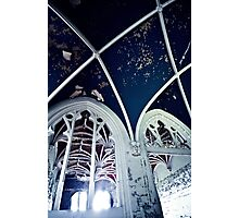 Burning Dark Blue Darkness ~ Chateau Noisy Photographic Print