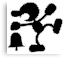 Game & Watch Canvas Print