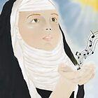 Hildegard of Bingen by TriciaDanby