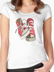 Hightops Women's Fitted Scoop T-Shirt