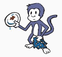 Purple Monkey Dishwasher by lynchboy