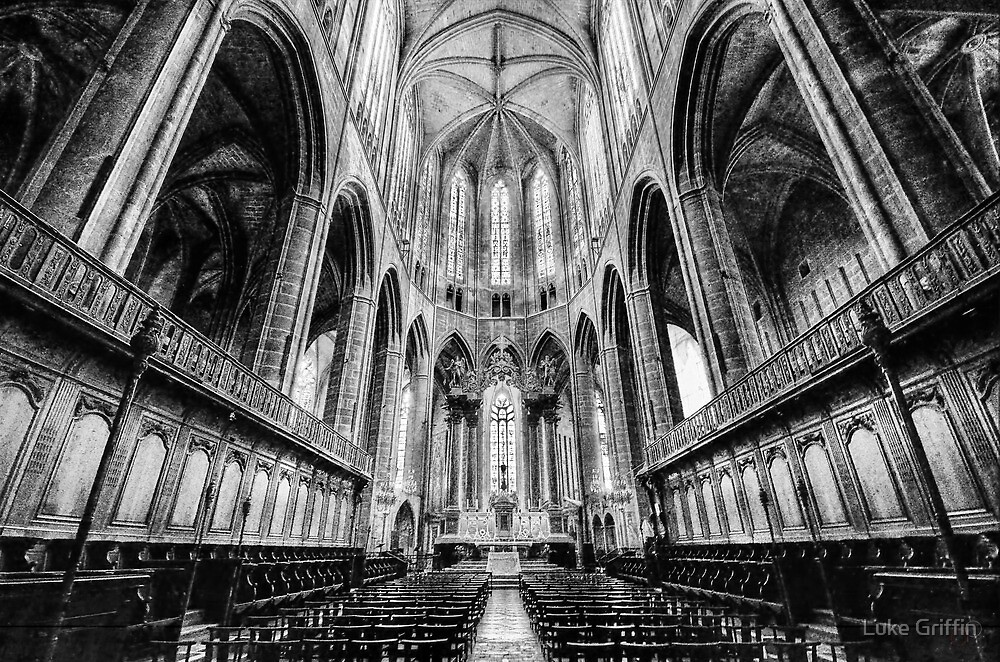 Narbonne Cathedral by Luke Griffin