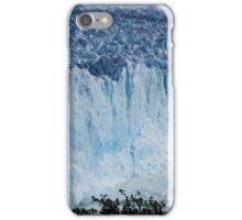 Perito Merino glacier calving  iPhone Case/Skin