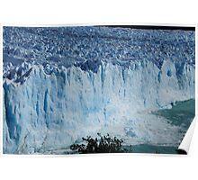 Perito Merino glacier calving  Poster