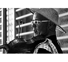 a musician 4 Photographic Print