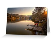 Lago pacco Greeting Card
