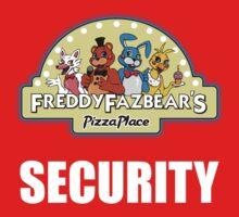Five Nights at Freddy's - FNAF 2 -  Freddy Fazbear's Security Logo One Piece - Short Sleeve