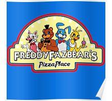 Five Nights at Freddy's - FNAF 2 - Freddy Fazbear's Logo  Poster