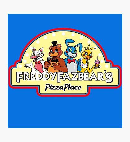 Five Nights at Freddy's - FNAF 2 - Freddy Fazbear's Logo  Photographic Print