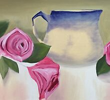 Rose Jug by Sharon Ellem-Bell