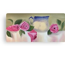 Rose Jug Canvas Print