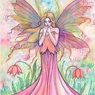 """Wildflower"" Fairy Art by Molly Harrison by Molly  Harrison"