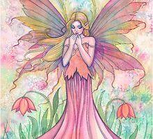 """""""Wildflower"""" Fairy Art by Molly Harrison by Molly  Harrison"""