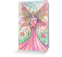 """Wildflower"" Fairy Art by Molly Harrison Greeting Card"