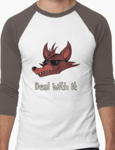 Five Nights at Freddy's - FNAF - Foxy - Deal With It Men's Baseball ¾ T-Shirt