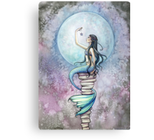 """Magic"" Mermaid Art by Molly Harrison Canvas Print"