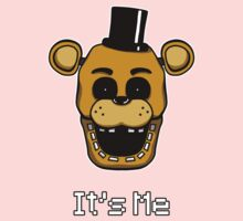 Five Nights at Freddy's - FNAF - Golden Freddy - It's Me Kids Tee