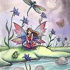 &quot;Magic at Dusk&quot; Fairy Art by Molly Harrison by Molly  Harrison