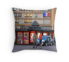 Attendant Pari-Roller Throw Pillow
