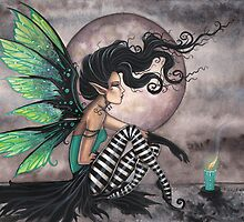 """Secret Place"" Fairy Art by Molly Harrison  by Molly  Harrison"