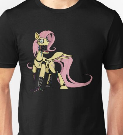 My Little Pony - MLP - FNAF -  Fluttershy Animatronic Unisex T-Shirt