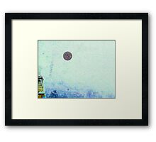 Orb Reporting Photograph  #9, 2nd fly by photo Framed Print
