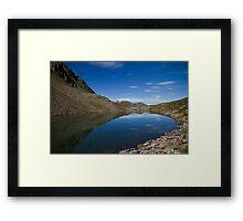 Refreshing Lake Framed Print