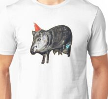 Javelinas with Party Hats Unisex T-Shirt