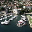 Dubrovnik Harbour by Don Alexander Lumsden (Echo7)