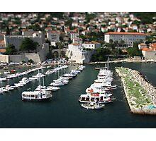 Dubrovnik Harbour Photographic Print