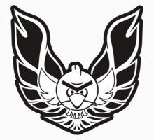 trans-angry bird. by Dann Matthews
