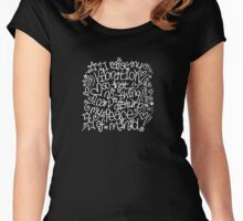I Raise My Vibration... Women's Fitted Scoop T-Shirt