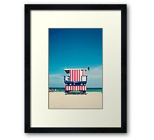 Baywatcher Framed Print