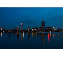 Boston from the Charles Photographic Print