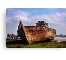 Grand Old Lady Canvas Print