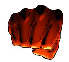 One Punch Man Fist by ProdigyJin