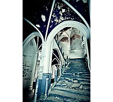 Vaults of Blue ~ Chateau Noisy Photographic Print