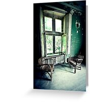 Room with a View ~ Chateau Noisy Greeting Card