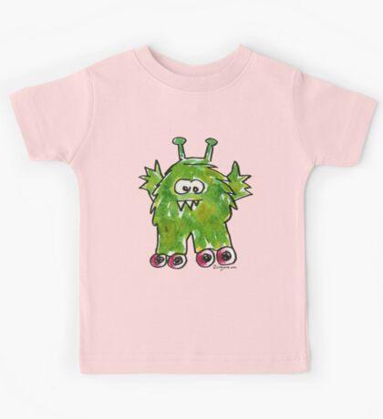 Funny Cartoon Monstar Monster 011 Kids Tee