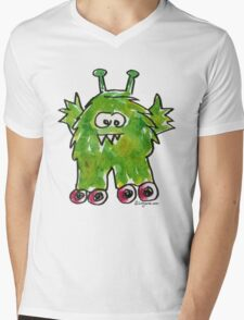 Funny Cartoon Monstar 011 Mens V-Neck T-Shirt