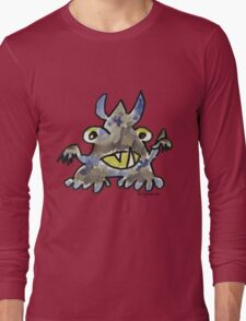 Funny Cartoon Monstar 012 Long Sleeve T-Shirt