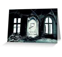 Cold ~ Chateau Noisy Greeting Card
