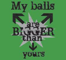 Bigger balls by Orangic
