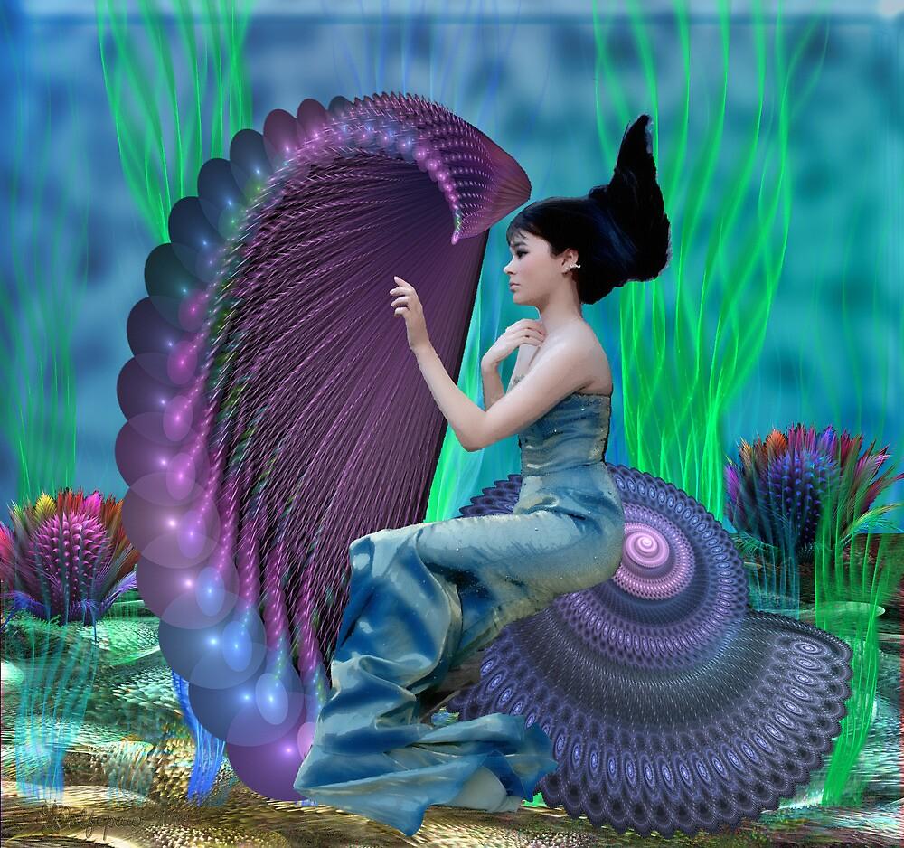 The Musical Mermaid by wolfepaw