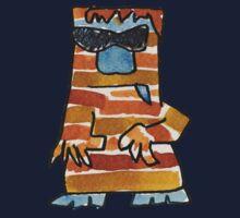 Funny Cartoon Monstar 016 Kids Clothes