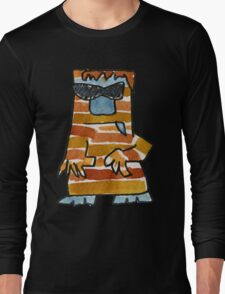 Funny Cartoon Monstar 016 Long Sleeve T-Shirt