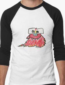 Funny Cartoon Monstar 019 Men's Baseball ¾ T-Shirt