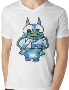 Funny Cartoon Monstar 020 Mens V-Neck T-Shirt