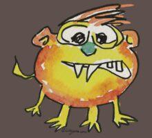 Funny Cartoon Monstar 021 Baby Tee
